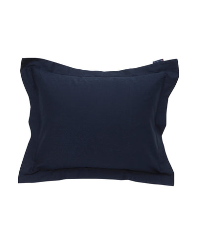 Lexington Hotel Sateen Jacquard Blue Pillowcase