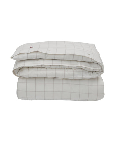 Lexington Hotel Light Flannel White/Lt Beige Duvet