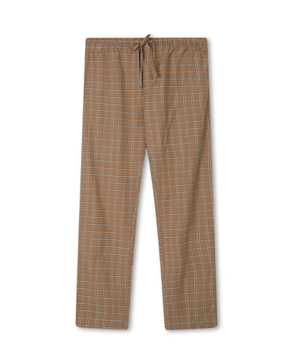 Lexington Men's Organic Cotton Flannel/Jersey Pyjamas Set