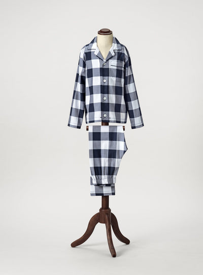 Hästens Blue Check Pyjamas Baby