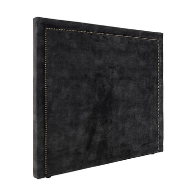 Artwood Paris Sänggavel Velvet Dark Grey