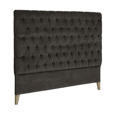 Artwood London Sänggavel Velvet Iron Grey