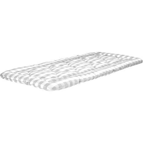 Hästens Bjx Luxury Bäddmadrass 80×200 / Silver Grey Check