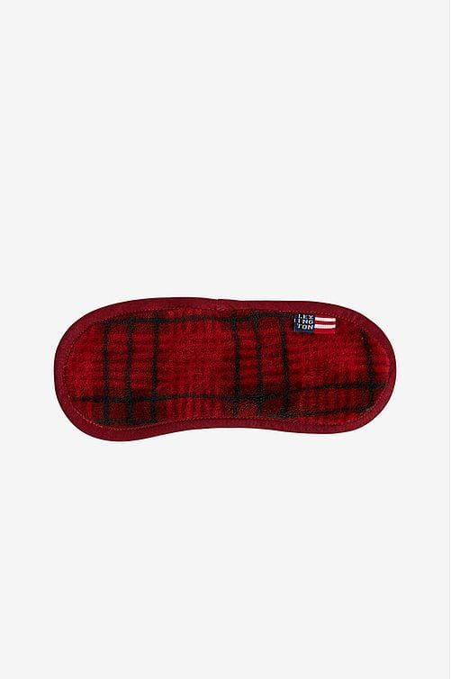 Lexington Checked Fleece Sleep Mask