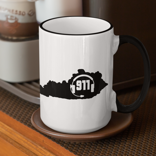 50 States Collection Kentucky 911 Dispatcher Mug - Pooky Noodles
