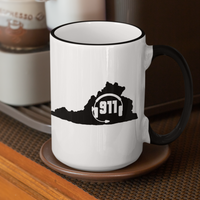 50 States Collection Virginia 911 Dispatcher Mug - Pooky Noodles