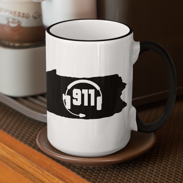 50 States Collection Pennsylvania 911 Dispatcher Mug - Pooky Noodles
