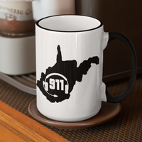 50 States Collection West Virginia 911 Dispatcher Mug - Pooky Noodles