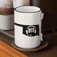 50 States Collection Oklahoma 911 Dispatcher Mug - Pooky Noodles