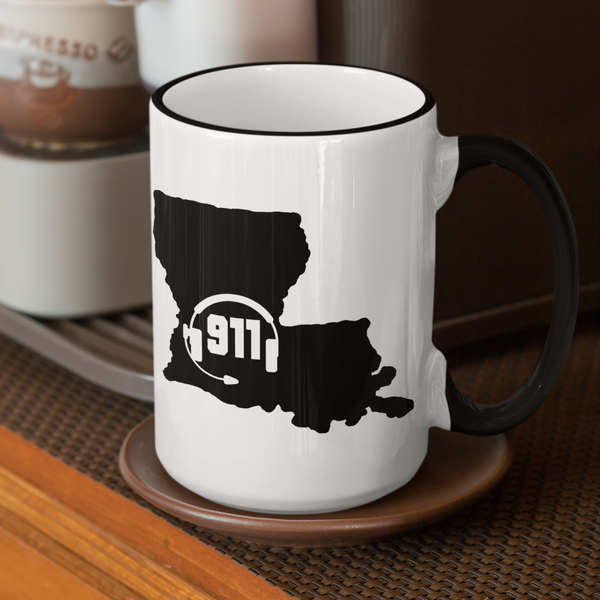 50 States Collection Louisiana 911 Dispatcher Mug - Pooky Noodles
