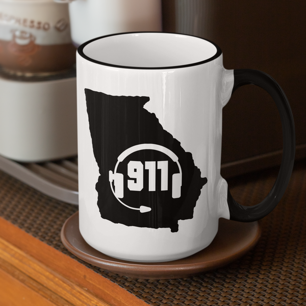 50 States Collection Georgia 911 Dispatcher Mug - Pooky Noodles