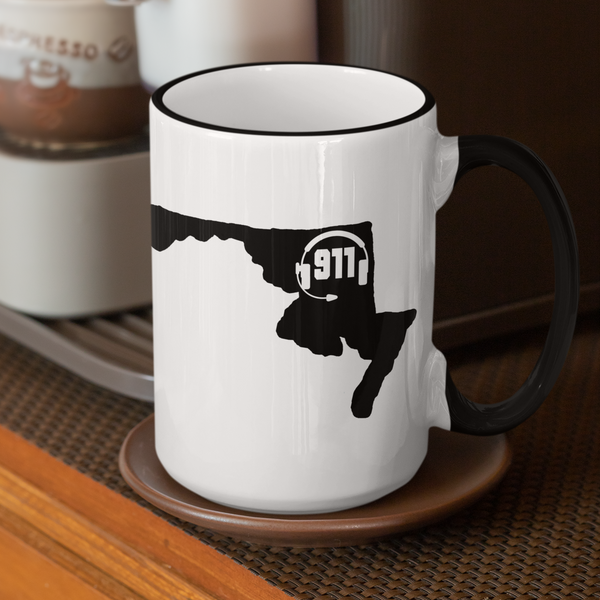 50 States Collection Maryland 911 Dispatcher Mug - Pooky Noodles