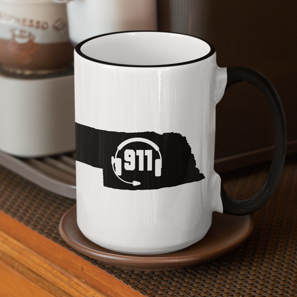 50 States Collection Nebraska 911 Dispatcher Mug - Pooky Noodles