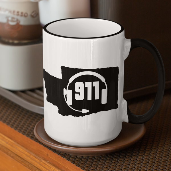 50 States Collection Washington 911 Dispatcher Mug - Pooky Noodles