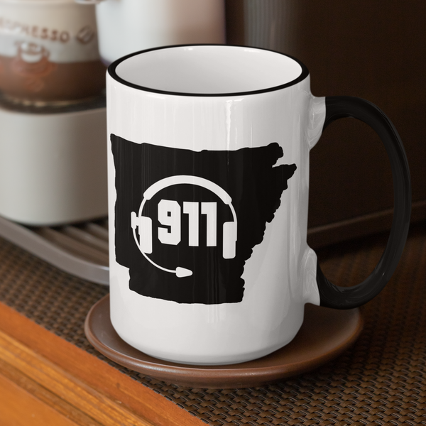 50 States Collection Arkansas 911 Dispatcher Mug - Pooky Noodles