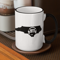50 States Collection North Carolina 911 Dispatcher Mug - Pooky Noodles