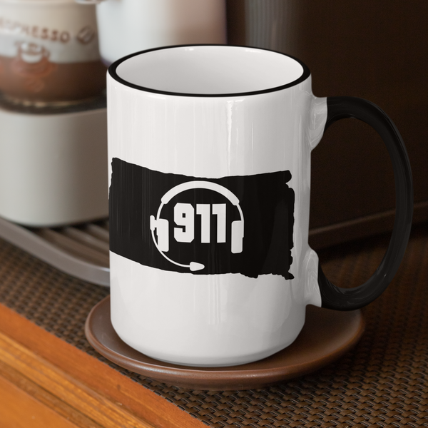 50 States Collection South Dakota 911 Dispatcher Mug - Pooky Noodles
