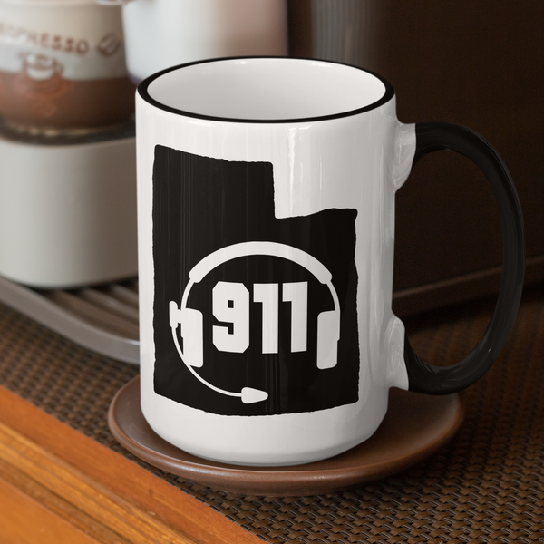 50 States Collection Utah 911 Dispatcher Mug - Pooky Noodles