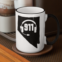50 States Collection Nevada 911 Dispatcher Mug - Pooky Noodles