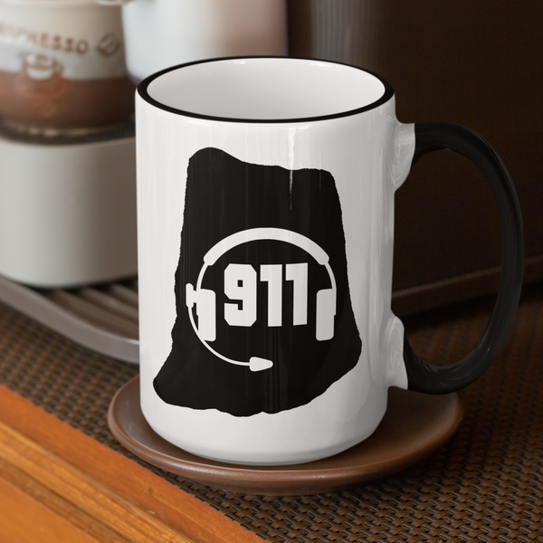 50 States Collection Rhode Island 911 Dispatcher Mug - Pooky Noodles