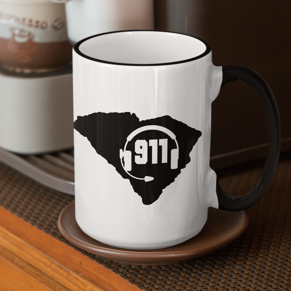 50 States Collection South Carolina 911 Dispatcher Mug - Pooky Noodles