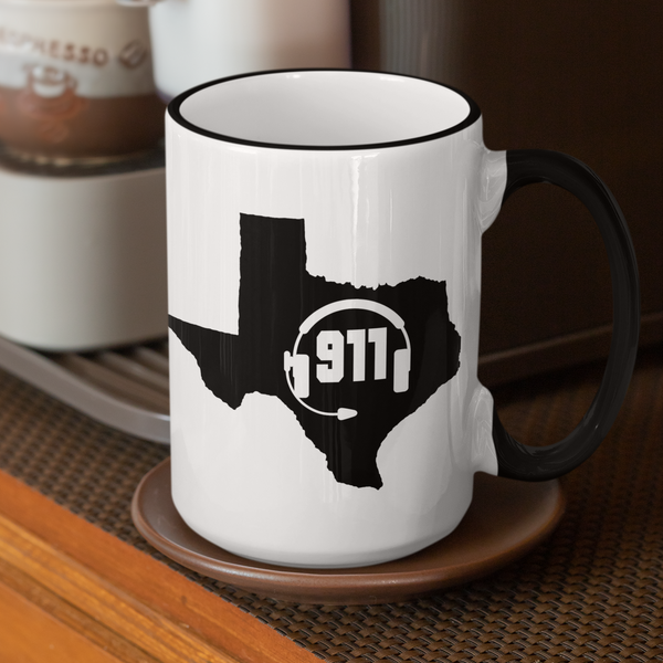50 States Collection Texas 911 Dispatcher Mug - Pooky Noodles