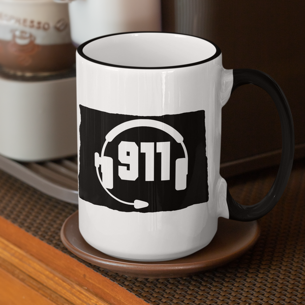 50 States Collection Wyoming 911 Dispatcher Mug - Pooky Noodles