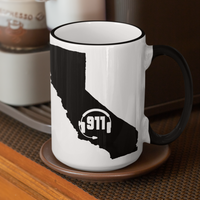 50 States Collection California 911 Dispatcher Mug - Pooky Noodles