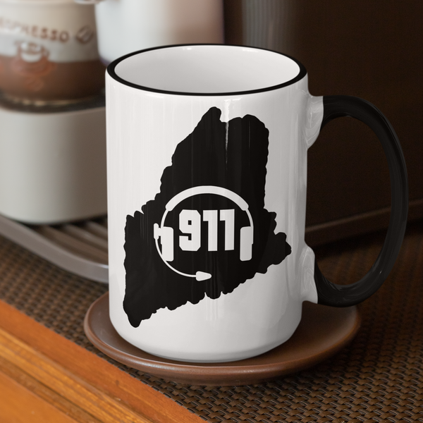 50 States Collection Maine 911 Dispatcher Mug - Pooky Noodles