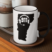 50 States Collection Vermont 911 Dispatcher Mug - Pooky Noodles