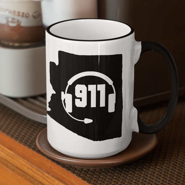 50 States Collection Arizona 911 Dispatcher Mug - Pooky Noodles