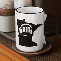 50 States Collection Minnesota 911 Dispatcher Mug - Pooky Noodles