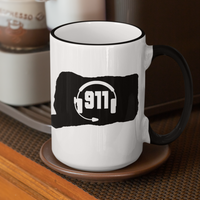 50 States Collection Connecticut 911 Dispatcher Mug - Pooky Noodles