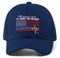 911 Dispatcher Hat Tell Me Your Worst I'll Send You The Best - Pooky Noodles