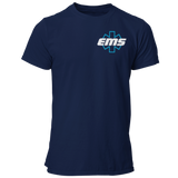 EMS Star of Life Navy Blue Unisex T Shirt - Pooky Noodles