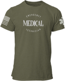 Emergency Medical Technician EMT T Shirt - Pooky Noodles