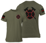 Firefighter Tactical Style T Shirt