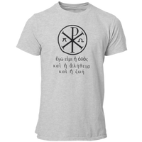 Greek Symbol and Text Christian T Shirt - Pooky Noodles