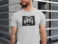 50 States Collection Wyoming 911 Dispatcher Unisex T Shirt - Pooky Noodles