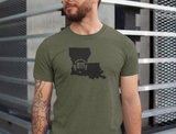 50 States Collection Louisiana 911 Dispatcher Unisex T Shirt - Pooky Noodles