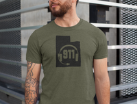 50 States Collection Utah 911 Dispatcher Unisex T Shirt - Pooky Noodles