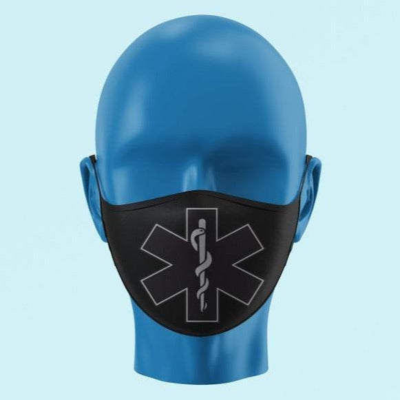 Black EMS Star of Life Mask - Pooky Noodles