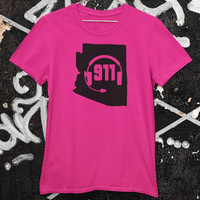 50 States Collection Arizona 911 Dispatcher Unisex T Shirt - Pooky Noodles