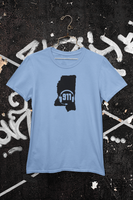 50 States Collection Mississippi 911 Dispatcher Unisex T Shirt - Pooky Noodles