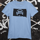 50 States Collection South Dakota 911 Dispatcher Unisex T Shirt - Pooky Noodles