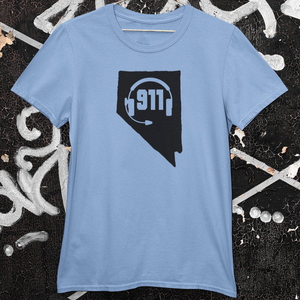 50 States Collection Nevada 911 Dispatcher Unisex T Shirt - Pooky Noodles