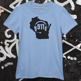 50 States Collection Wisconsin 911 Dispatcher Unisex T Shirt - Pooky Noodles
