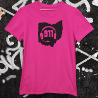 50 States Collection Ohio 911 Dispatcher Unisex T Shirt - Pooky Noodles