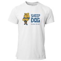 Sheep Dog Holding The Line Police, Deputy, LEO T Shirt - Pooky Noodles