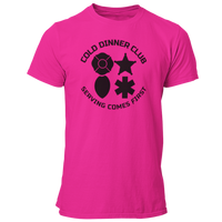 Cold Dinner Club First Responders Unisex T Shirt for Firefighters, Law Enforcement, EMS, and Dispatchers - Pooky Noodles